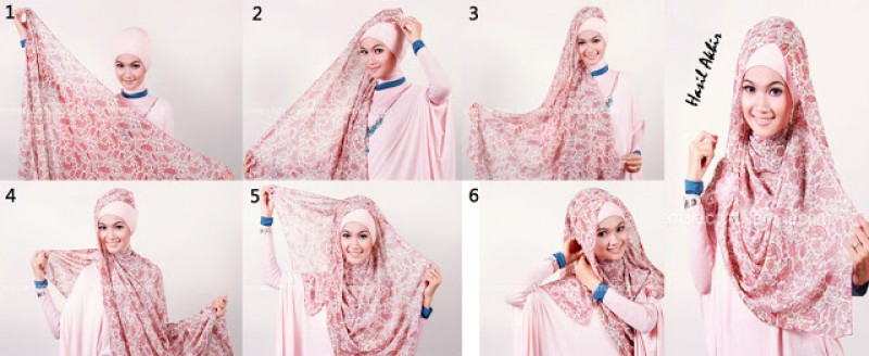 4. Selalu memburu video tutorial hijab di Youtube